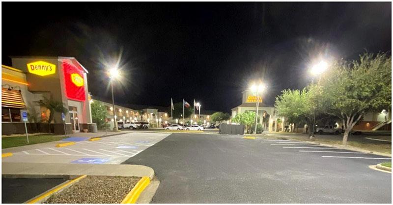 LED Parking Lot & Building Lighting
